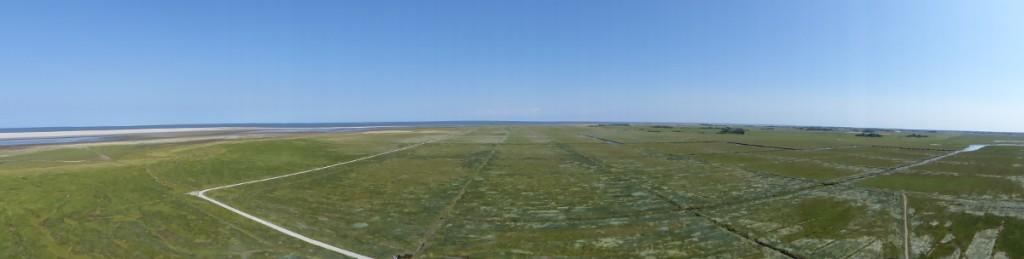 Der Salzwiesen-Blick, als Panorama-Bild