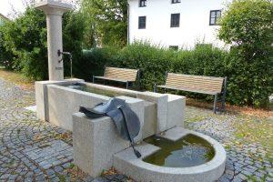 Der Brunnen vor der Alten Post